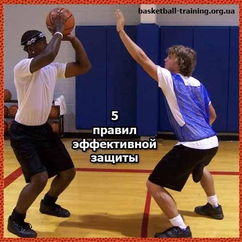5 советов по игре в защите против игрока с мячом