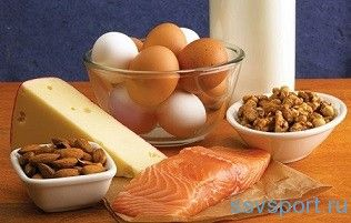 Белковое питание для спортсменов