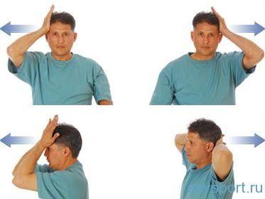 Упражнения для шеи по Бубновскому