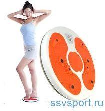 Диск здоровья — упражнения для похудения