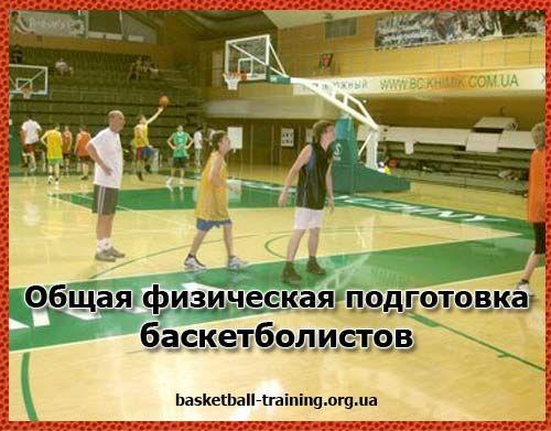 Физическая подготовка баскетболистов: часть 2