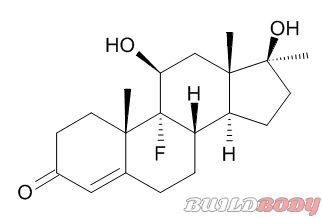 Химическая структура Флюоксиместерона
