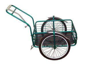 грузовой велоприцеп пчелка 2 для транспортировки грузов