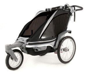 велосипедный прицеп для транспортировки детей с креплением спереди