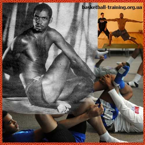 Йога для баскетболистов