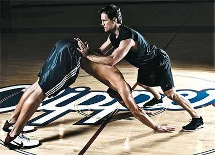 Йога для баскетболистов. Совмещение тренировок и йоги.