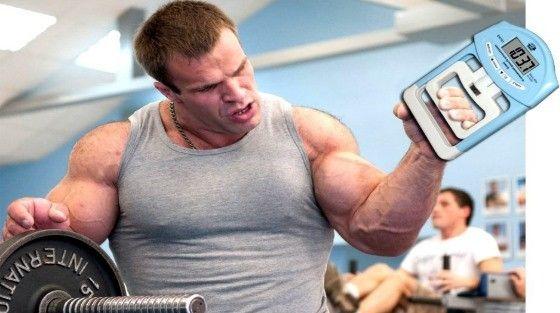 Тренировка мышц с эспандером кистевым для мужчин