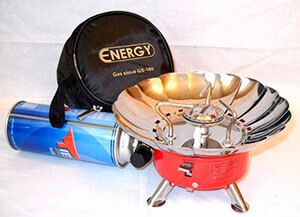 Как выбирается походная газовая плита для баллонного газа