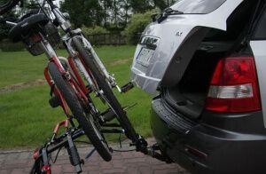 Крепление для велосипедов на фаркоп Amos Platforma4