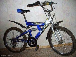 Подростковый велосипед mustang