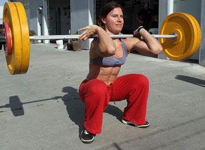 Тяжелоатлетические упражнения 3-й недели 3-го подготовительного месяца в тренировке штангиста.