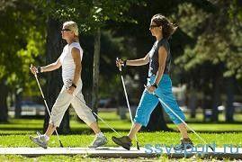 Скандинавская ходьба с палками для похудения — отзывы