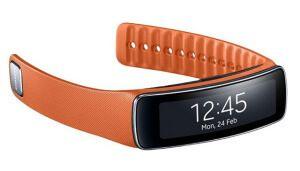 Фитнес браслет с шагомером Samsung Gear Fit