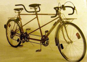 Тандем двухместный велосипед своими руками