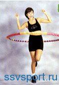 Упражнения с обручем для похудения