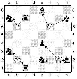 Урок двадцать седьмой. Шахматные комбинации. Двойной удар.