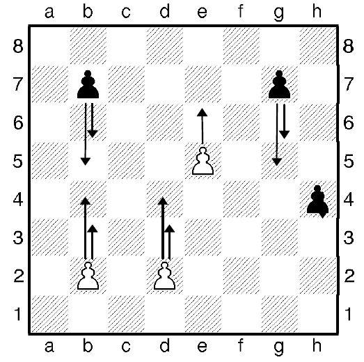 Урок восьмой. Как ходит шахматная пешка.