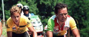 Грег Лемонд и Бернар Гино - победители тур де Франс