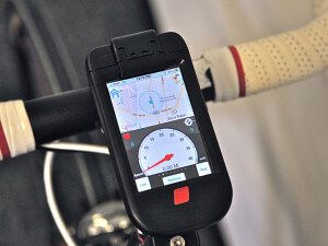 пластиковый держатель ibike для телефона iphone 5, 4, 4s
