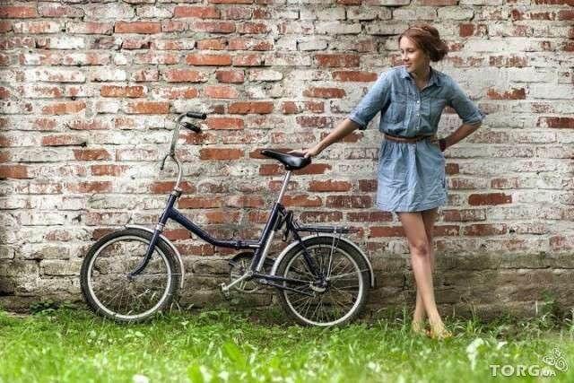 Фото белорусский складной велосипед Аист