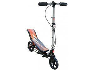 двухколесный самокат для взрослых и детей space scooter
